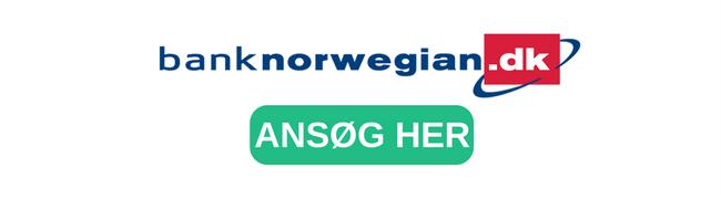 Bank Norwegian - lån fra 5000 kr og op til 400.000
