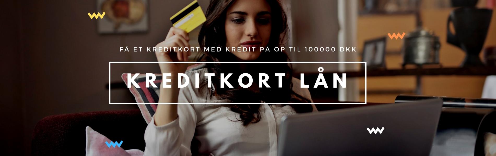 Kreditkort lån online